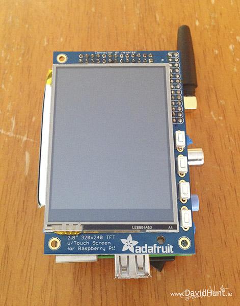 PiPhone – A Raspberry Pi based Smartphone – www DavidHunt ie