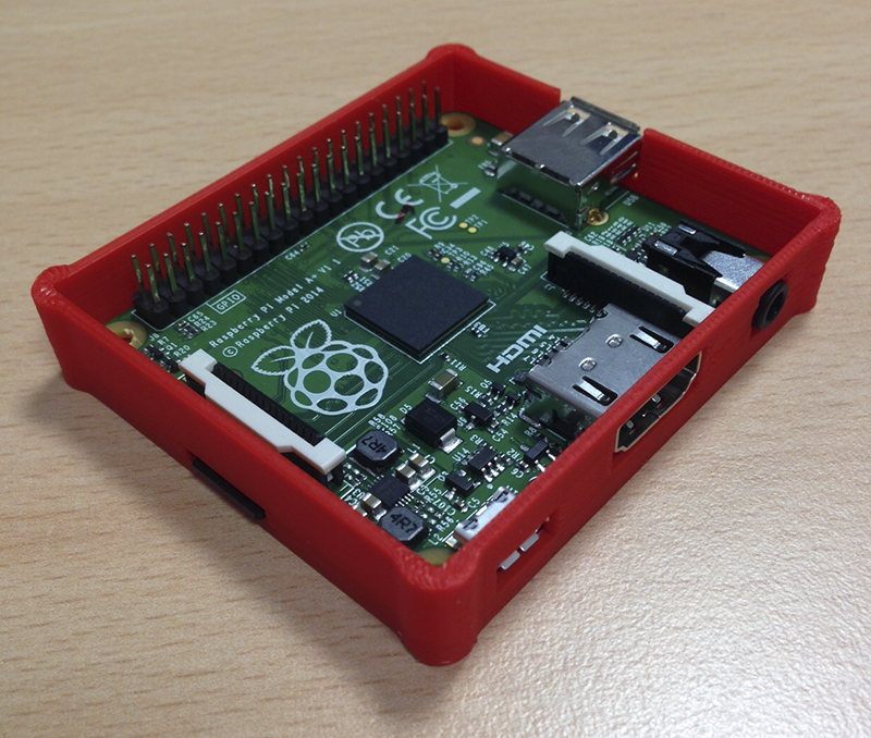 Raspberry pi case 3d model download