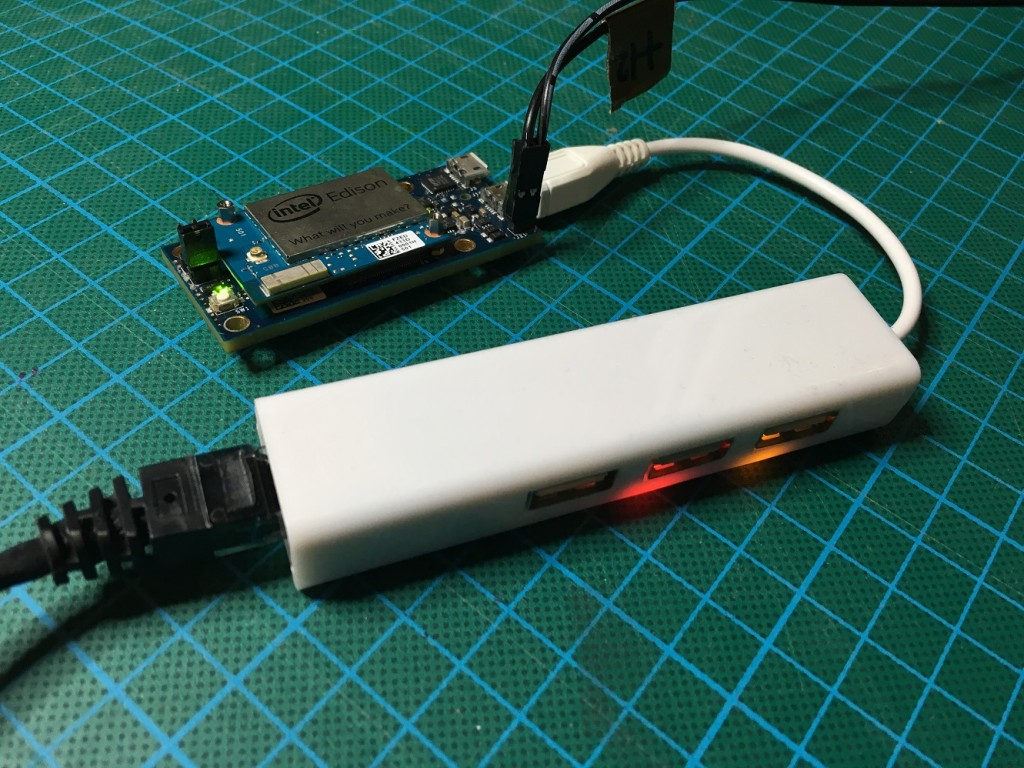 Add 3 Usb Ports And An Ethernet Port To Intel Edison