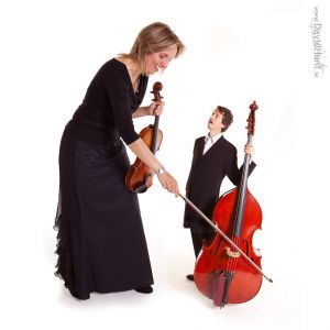 Violin and Double Bass